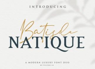 Batisde Natique Font