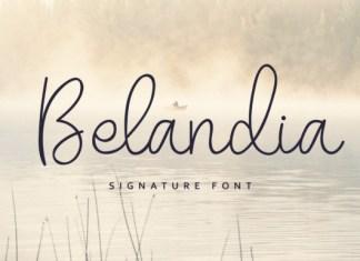 Belandia Font