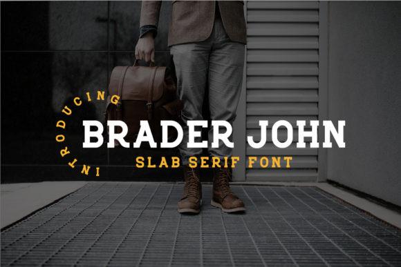 Braderjohn Font