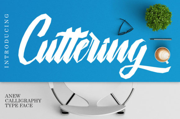 Cuttering Font