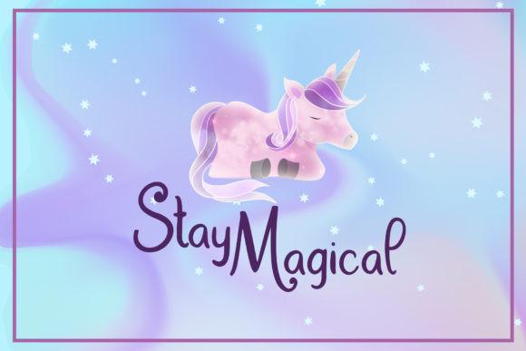 Dream Unicorn Font