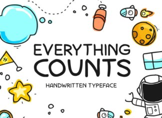 Everything Counts Font
