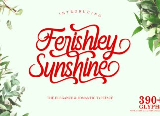 Ferishley Sunshine Font