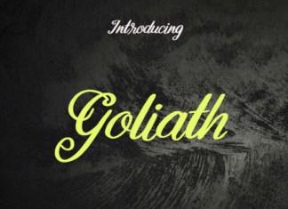 Goliath Font