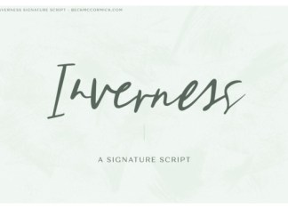 Inverness Font