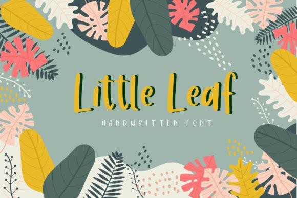 Little Leaf Font