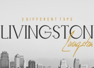 Livingston font