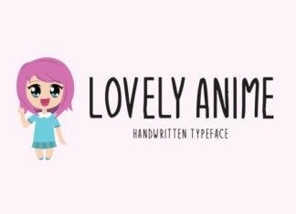 Lovely Anime Font