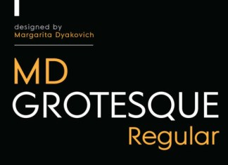 MD Grotesque Regular Font