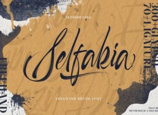 Selfakia Font