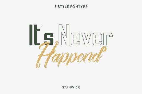 Stanwick Font