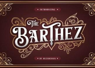 Barthez - Victorian Serif Font