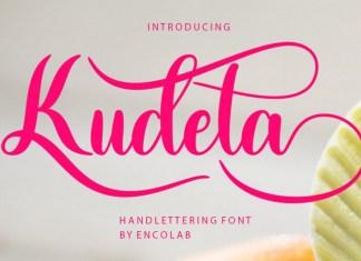 Kudeta Script Font
