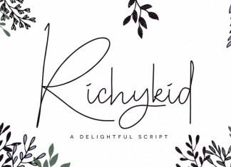 Richykid Font