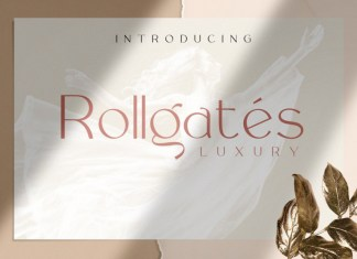 Rollgates Luxury Font
