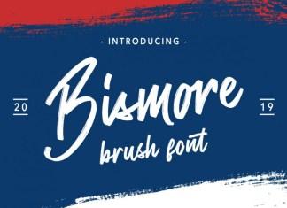 Bismore - Brush Font