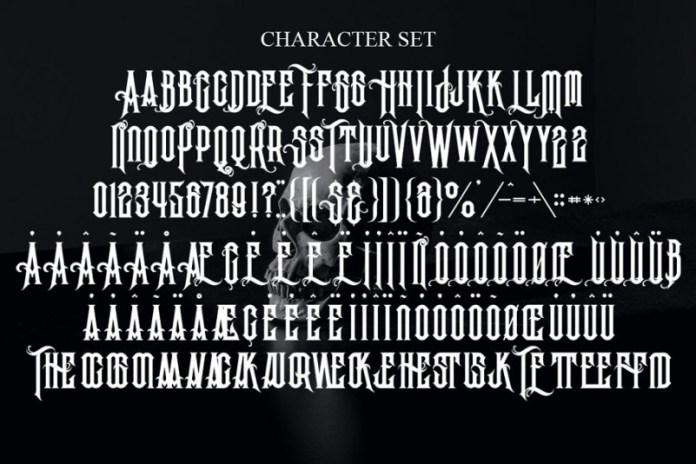 Vanderink Font