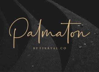 Palmaton Font