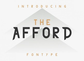 THE AFFORD Font
