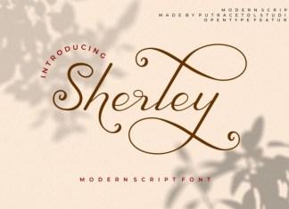 Sherley Script Font