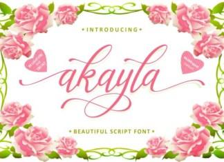 Akayla Font