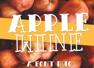 Apple Wine Font