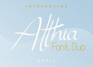 Atthia Font