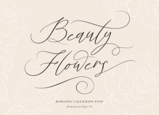 Beauty Flowers font