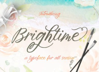 Brightime Font