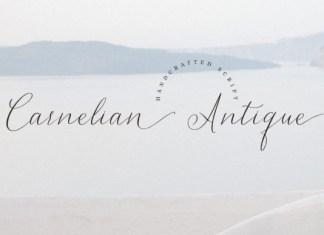 Carnelian Antique Font