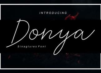 Donya font