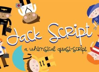 Jack Script Font