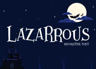 Lazartous Font