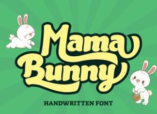 Mama Bunny Font