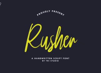 Rusher Font