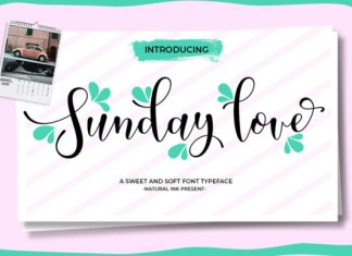 Sunday Love Font