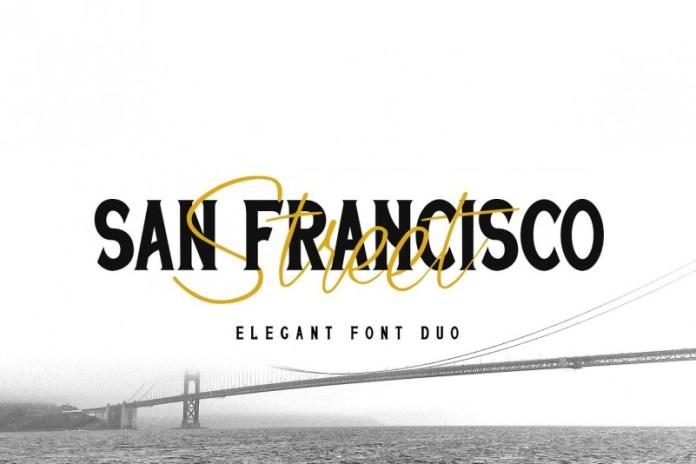San Francisco Street Font Duo