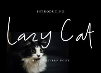Lazy Cat Script Font