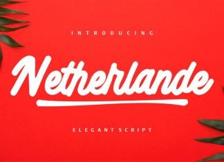 Netherlande Font