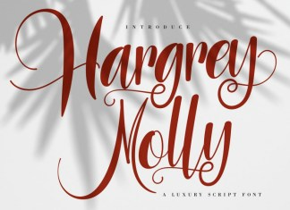 Hargery Molly Font