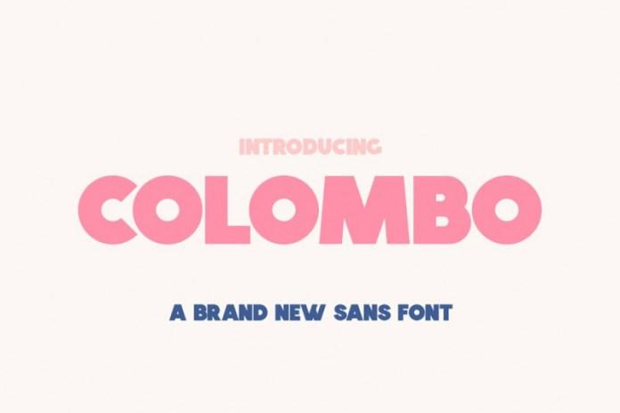 Colombo Font