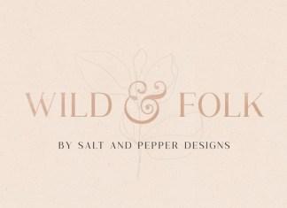 Wild & Folk Font