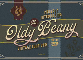 Oldy Beany Font