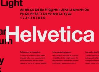 Helvetica Fonts
