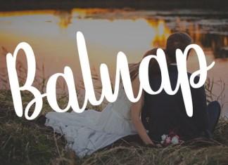 Baluap Font