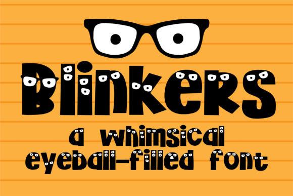Blinkers Font