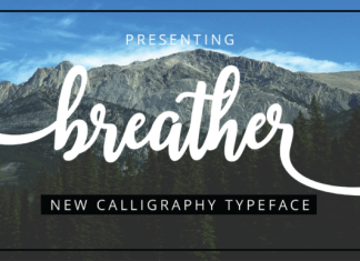 Breather Font