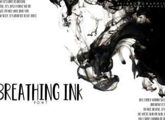 Breathing Ink Font