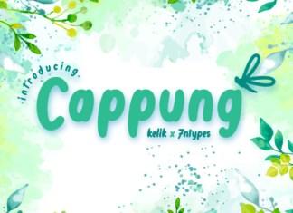Cappung Font