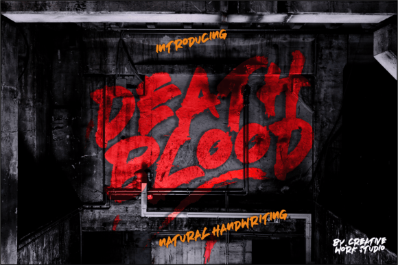 Deathblood Font